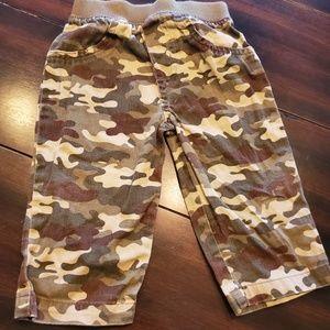 kids camouflage pants